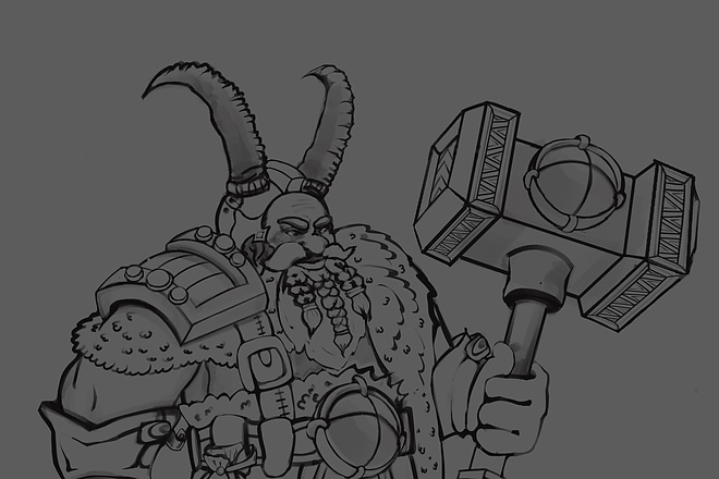 Создам и отрисую коммерческого персонажа 2 - kwork.ru