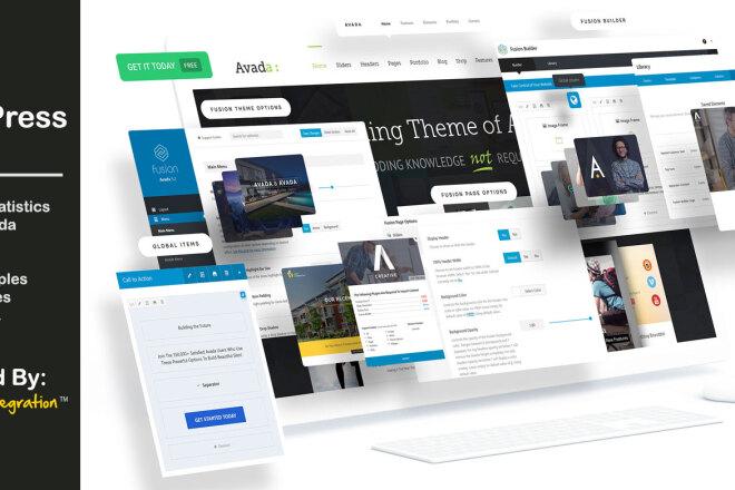 Установлю на ваш сайт самую известную премиум тему - Avada 1 - kwork.ru
