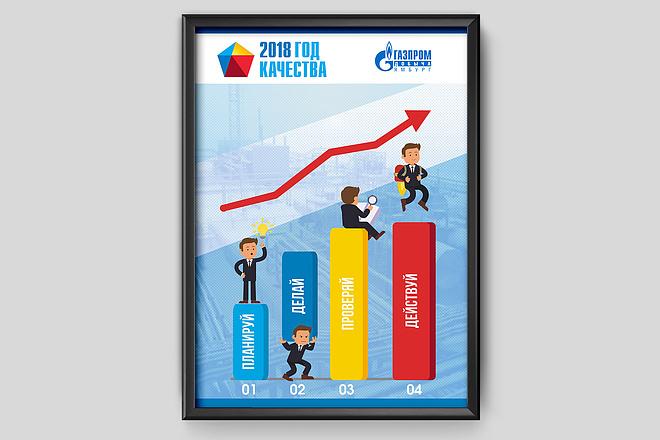 Дизайн плакаты, афиши, постер 34 - kwork.ru