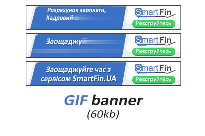 Сделаю 2 качественных gif баннера 15 - kwork.ru