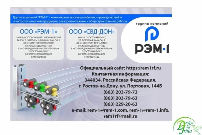 Рекламный баннер 50 - kwork.ru