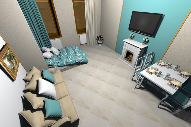 3d визуализация квартир и домов 54 - kwork.ru