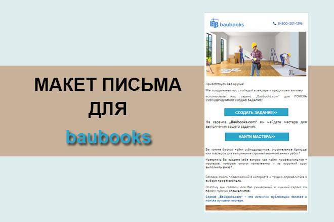Создам html письмо для e-mail рассылки -адаптация + дизайн 24 - kwork.ru