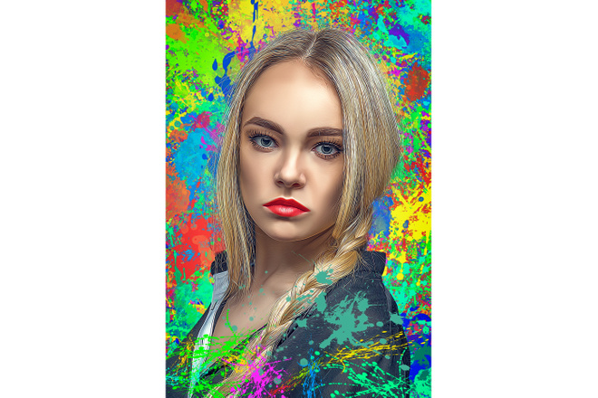 Дрим Арт портрет 66 - kwork.ru