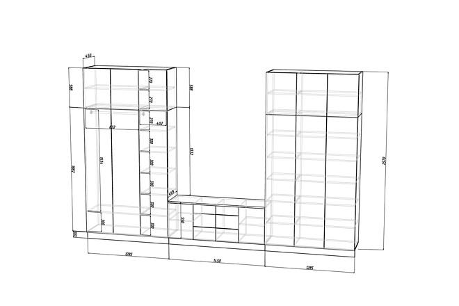 Конструкторская документация для изготовления мебели 79 - kwork.ru