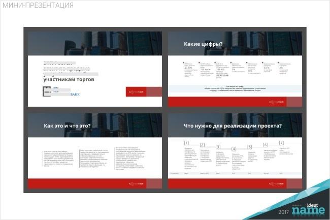 Бизнес презентацию в PDF 20 - kwork.ru