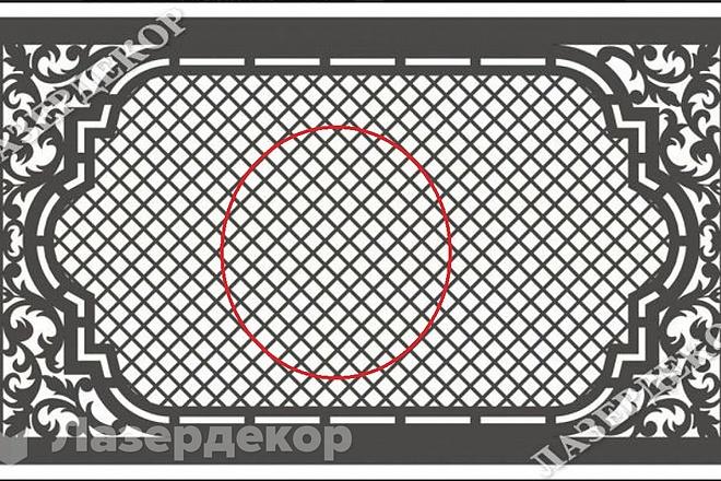Отрисую в векторе любые модели, для ЧПУ или лазерной резки 2 - kwork.ru