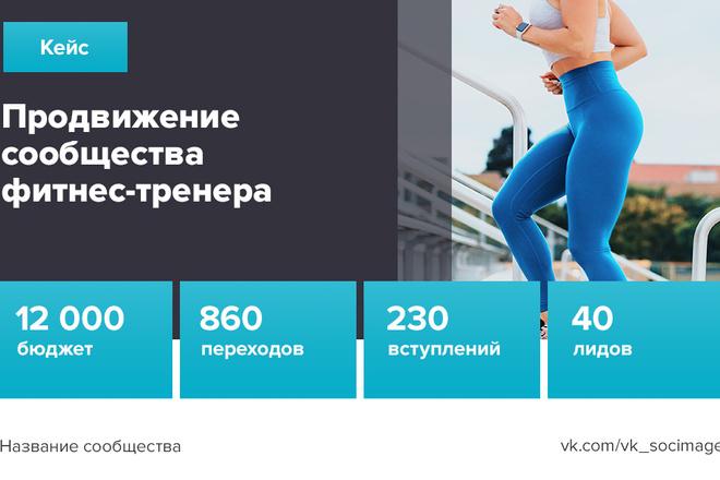 Продающий Promo-баннер для Вашей соц. сети 23 - kwork.ru