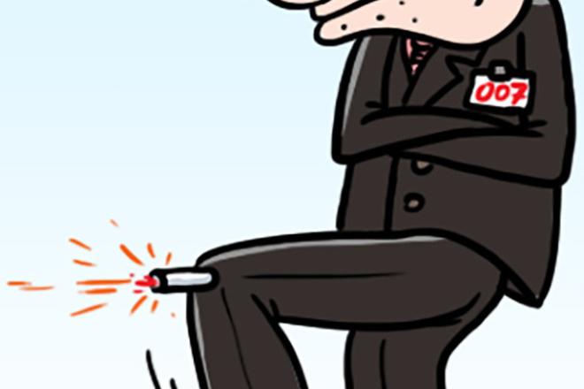 Нарисую простую иллюстрацию в жанре карикатуры 54 - kwork.ru
