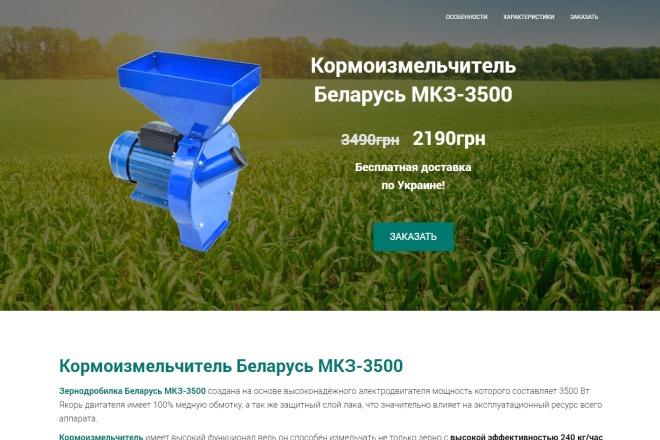 Скопировать лендинг 1 - kwork.ru