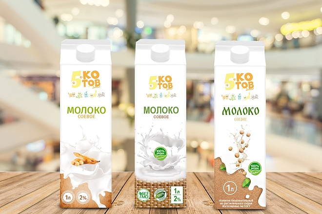 Уникальный дизайн упаковки, этикетки, наклейки 4 - kwork.ru