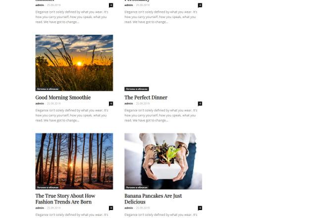 Создам красивый адаптивный блог, новостной сайт 3 - kwork.ru