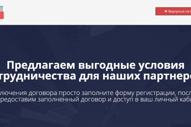 Создам простой мини лендинг на Вордпресс 2 - kwork.ru