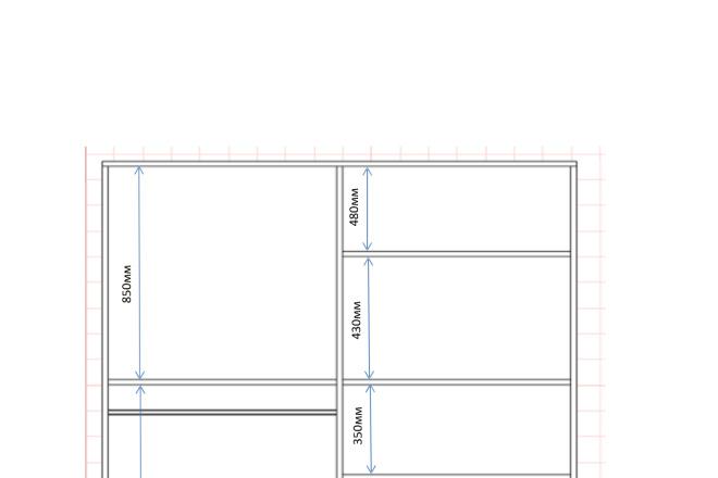 Изготовления проекта для мебели с технической документацией 7 - kwork.ru