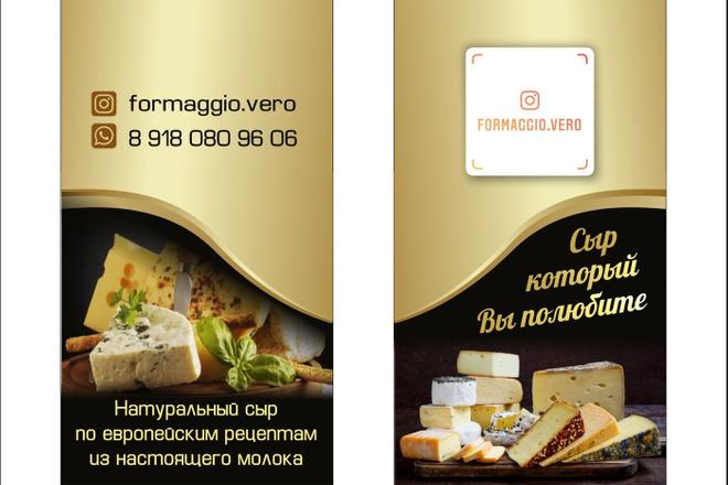 Дизайн визиток 48 - kwork.ru