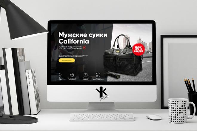 Лендинг под ключ, крутой и стильный дизайн 12 - kwork.ru