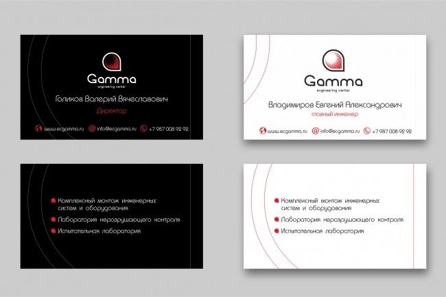 Дизайн визиток 60 - kwork.ru
