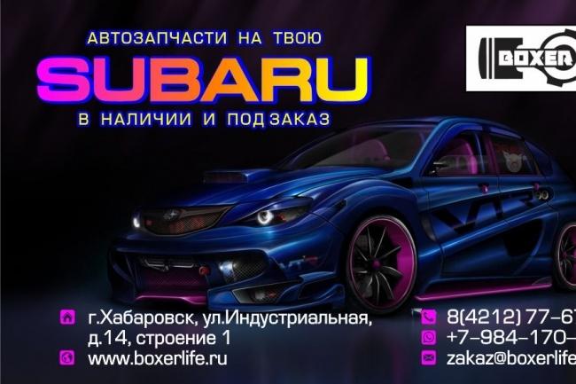 Дизайн визиток 59 - kwork.ru