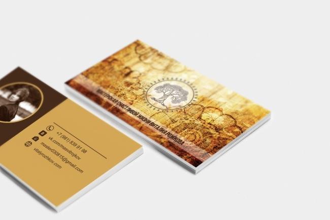 Сделаю дизайн визитки, визитных карточек 59 - kwork.ru