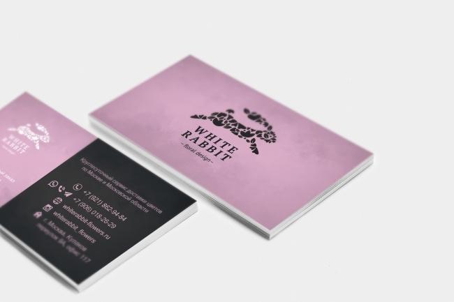 Сделаю дизайн визитки, визитных карточек 49 - kwork.ru