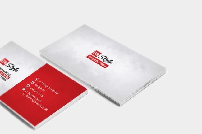 Сделаю дизайн визитки, визитных карточек 42 - kwork.ru