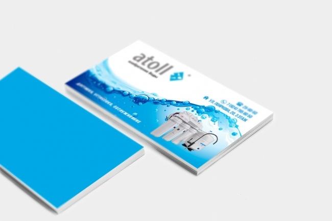 Сделаю дизайн визитки, визитных карточек 43 - kwork.ru
