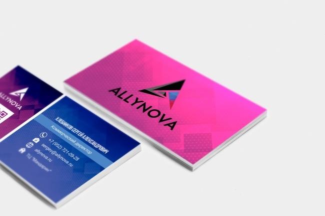 Сделаю дизайн визитки, визитных карточек 39 - kwork.ru