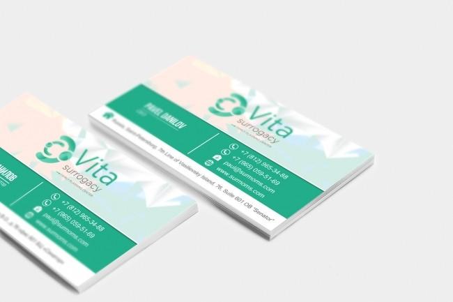 Сделаю дизайн визитки, визитных карточек 30 - kwork.ru