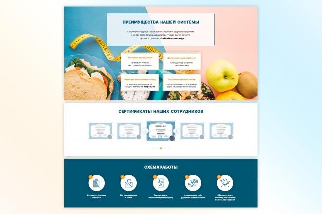 Дизайн Landing Page 4 - kwork.ru