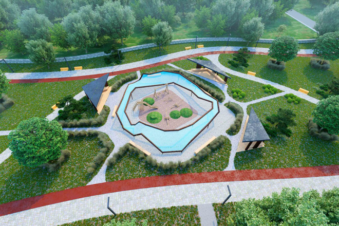 Ландшафтный дизайн 16 - kwork.ru