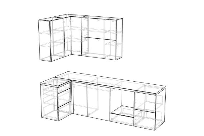 Конструкторская документация для изготовления мебели 127 - kwork.ru