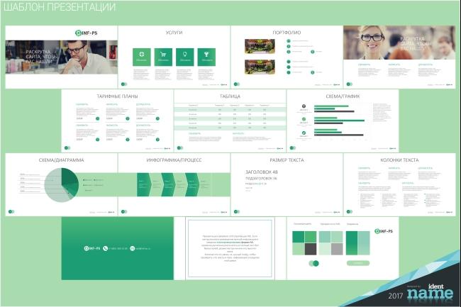 Концепт-дизайн, шаблон презентации 11 - kwork.ru