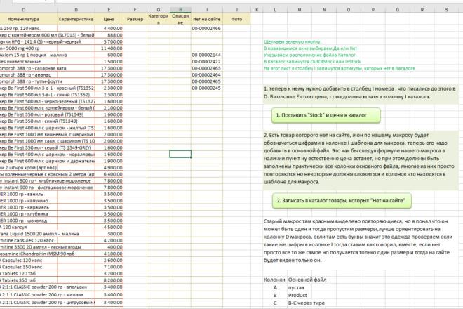 Excel формулы, сводные таблицы, макросы 28 - kwork.ru