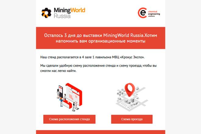 Создание и вёрстка HTML письма для рассылки 79 - kwork.ru