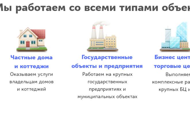 Создание сайта - Landing Page на Тильде 168 - kwork.ru