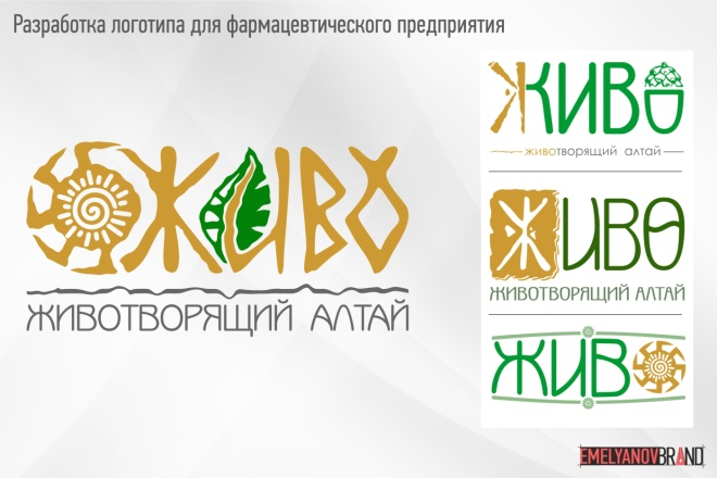 Логотип любой тематики, сложности и стиля 2 - kwork.ru