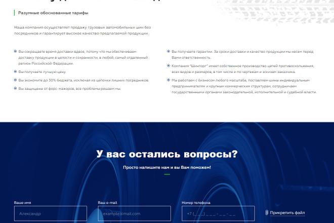 Сайт под ключ. Landing Page. Backend 63 - kwork.ru