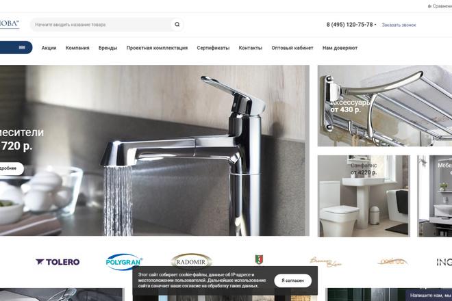 Скопирую почти любой сайт, landing page под ключ с админ панелью 48 - kwork.ru