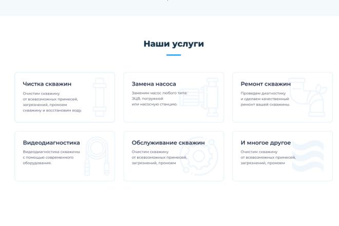 Разработка Landing Page Под ключ Только уникальный дизайн 8 - kwork.ru