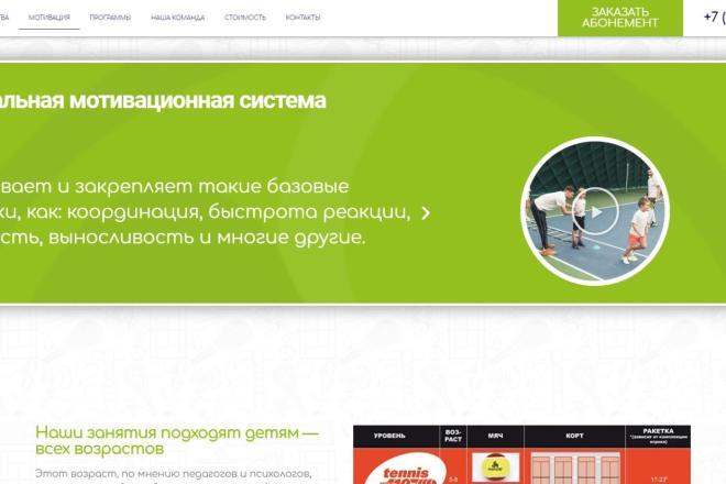Лендинг для любых целей на Wordpress 9 - kwork.ru