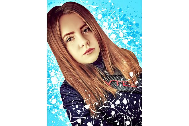 Дрим Арт портрет 64 - kwork.ru