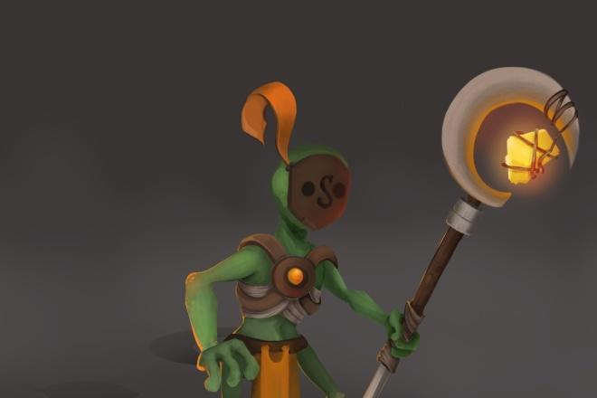 Создам и отрисую коммерческого персонажа 5 - kwork.ru