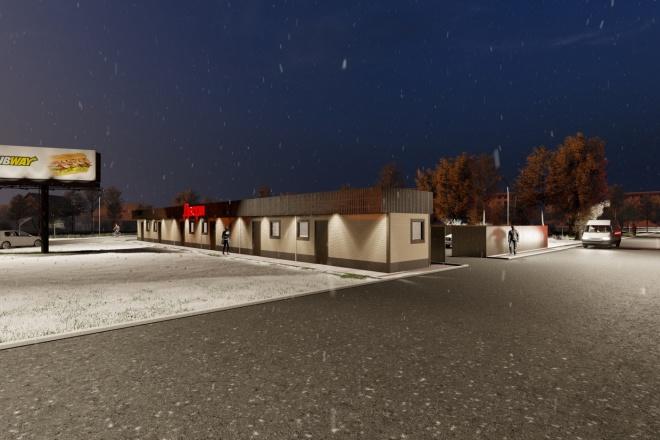 Фотореалистичная 3D визуализация экстерьера Вашего дома 81 - kwork.ru
