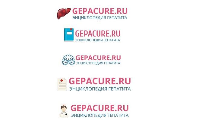 Создание логотипа для сайта 5 - kwork.ru