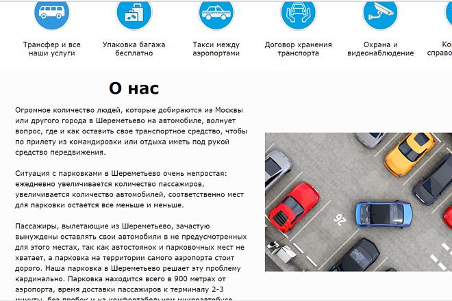 Создам лендинг на популярных платформах 14 - kwork.ru