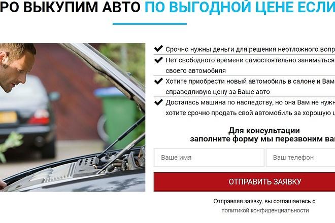 Создам лендинг на популярных платформах 12 - kwork.ru