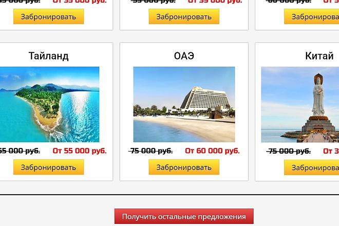 Создам лендинг на популярных платформах 7 - kwork.ru