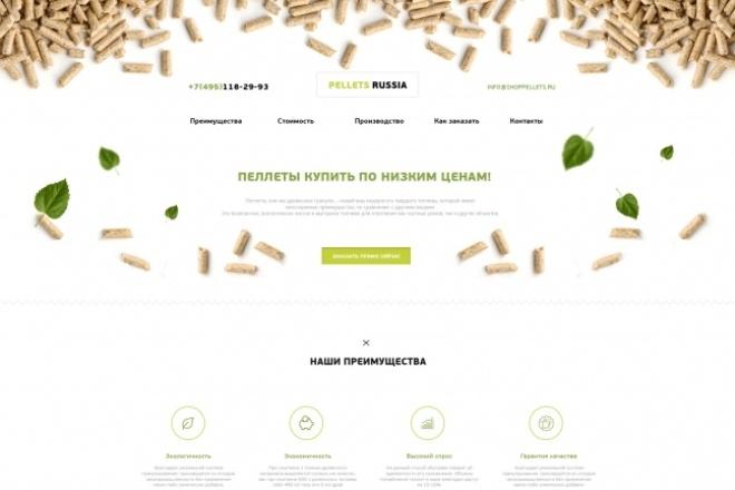 Дизайн одного блока Вашего сайта в PSD 97 - kwork.ru