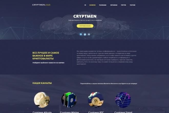 Дизайн одного блока Вашего сайта в PSD 95 - kwork.ru