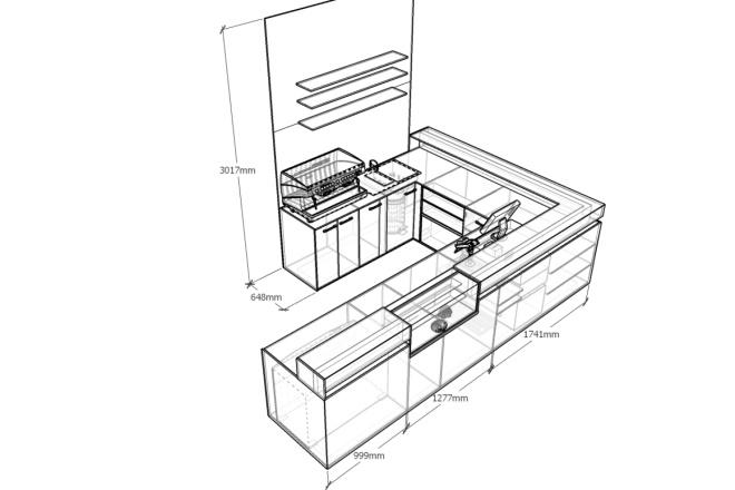 3д моделирование мебели 3 - kwork.ru
